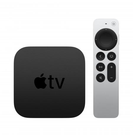 Apple TV 4K Black, Silver 4K Ultra HD 64 GB Wi-Fi Ethernet LAN