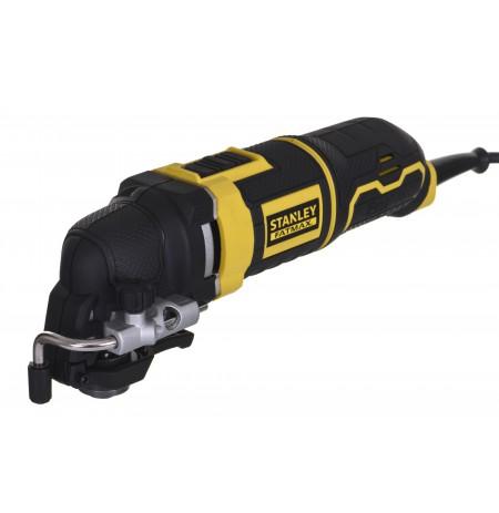 Stanley FME650K-QS oscillating multi-tool Black, Yellow
