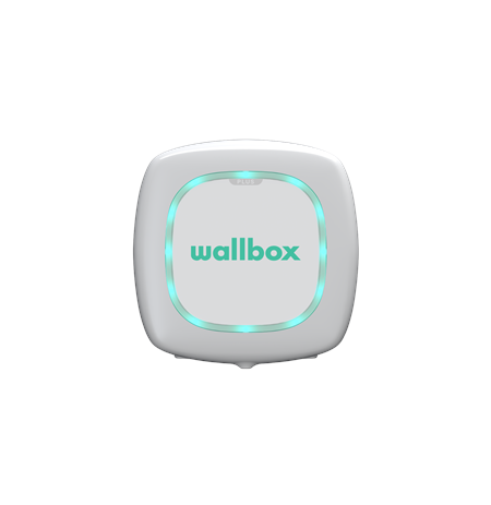 Wallbox Pulsar Plus Electric Vehicle charger Type 2, 22kW 5 m, White