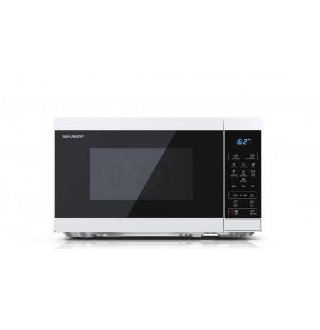 Sharp YC-MS02E-W microwave Countertop Solo microwave 20 L 800 W Black, White
