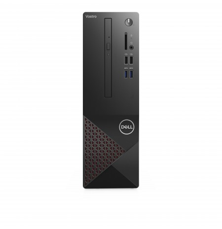 DELL Vostro 3681 DDR4-SDRAM i5-10400 SFF 10th gen Intel® Core™ i5 4 GB 1000 GB HDD Windows 10 Pro PC Black, Red