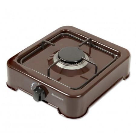 1-burner gas cooker Ravanson K-01BR (Brown)