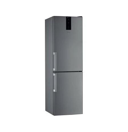 Whirlpool W7 821O OX fridge-freezer Freestanding 343 L E Stainless steel