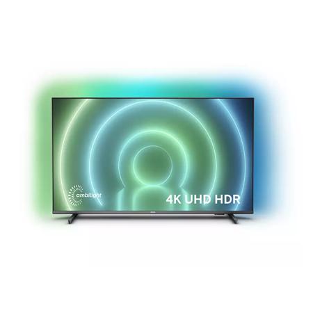 "Philips LED Smart TV 65PUS7906/12 Smart TV, Android, 4K UHD, 3840 x 2160, Wi-Fi,  DVB-T/T2/T2-HD/C/S/S2, Black, 65 """
