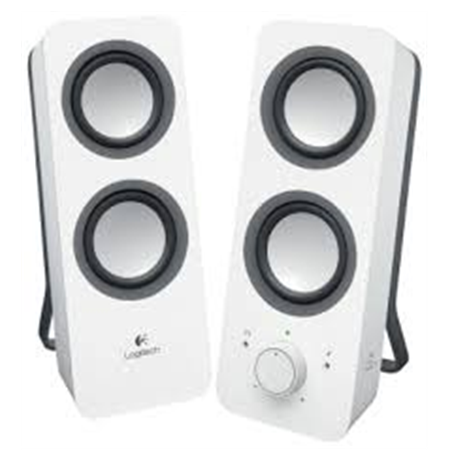 Logitech Z200 Multimedia Speakers White
