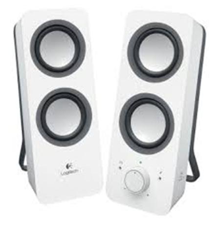 Logitech Z200 Multimedia Speakers White