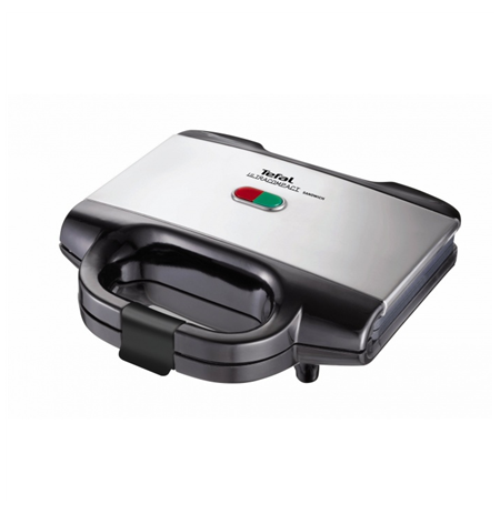 TEFAL SM1552 Sandwich maker, Indicator light, Non-stick coating, Power 700W, Black-silver