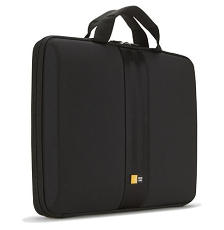 "Case Logic QNS-113 Laptop Sleeve for 13""/ EVA-Nylon/ For (32.5 x 2.0 x 25.0cm)/ Black"
