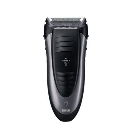 Braun 190S-1 Smart Control Cordless Shaver, Black