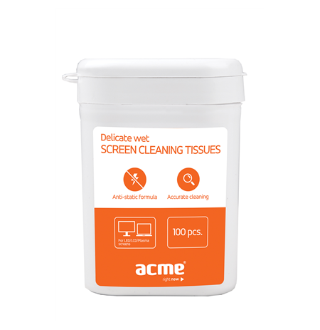 ACME CL02 Screen Cleaning Wipes TFT/LCD 100pcs