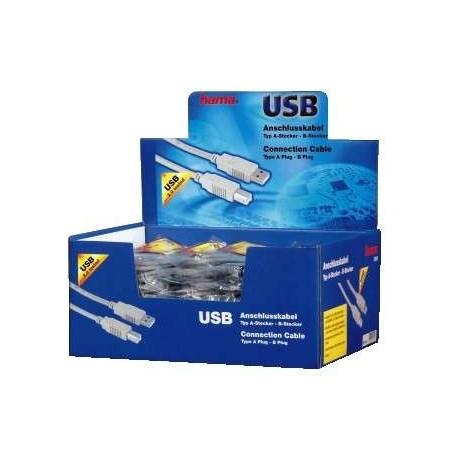 HAMA USB A-B.1.5M IN DISPLAY