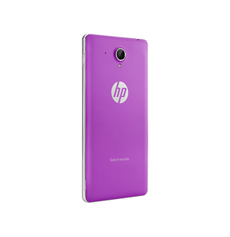HP Slate6 VT Purple Back Cover